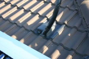 Dachdurchgang